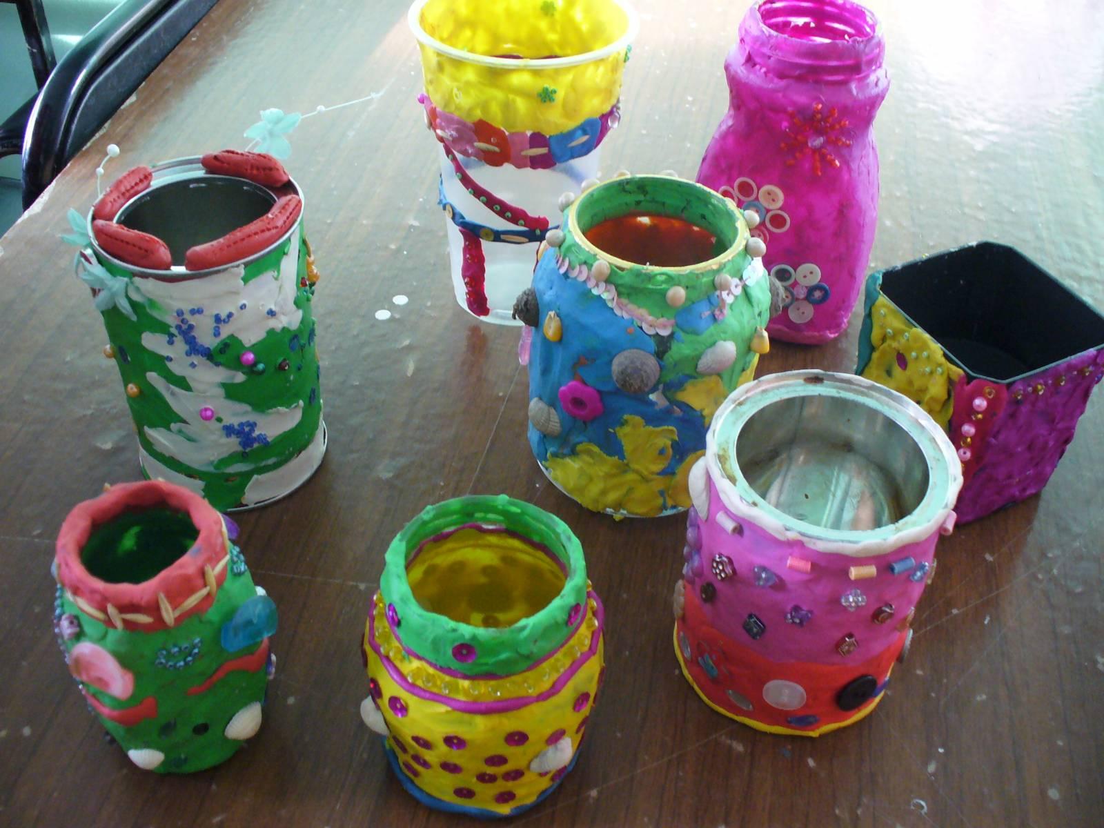 Своими руками из подручных ваза 979